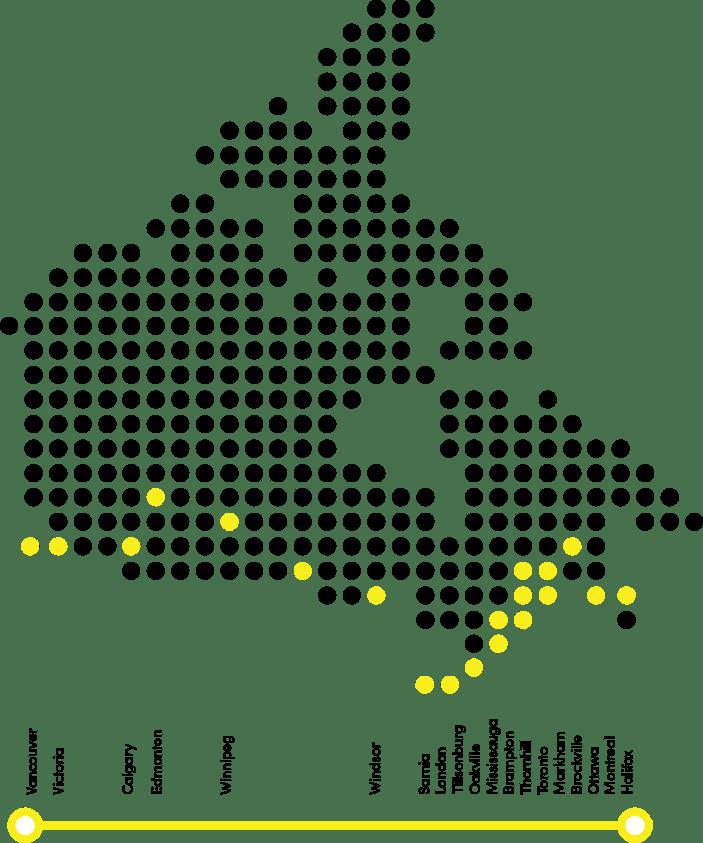 Agilus Map
